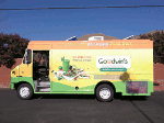 Goodwins organic food truck